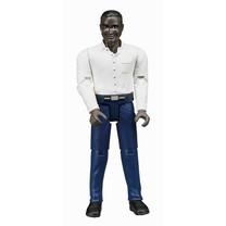 Bruder Bruder Man met donkerblauwe jeans, 1:16