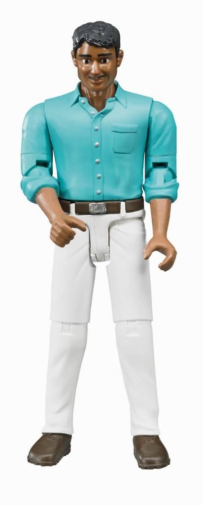 Bruder Bruder Man met witte jeans, 1:16