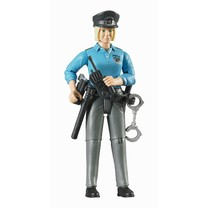 Bruder Bruder Politie agente met accessoires 1:16