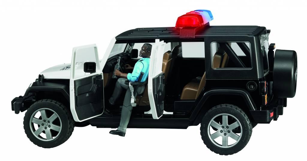 Jeep Jeep Wrangler Unlimited Rubicon politie auto met agent van Bruder