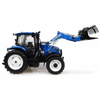 New Holland New Holland T6.145 met 740TL voorlader 1:32