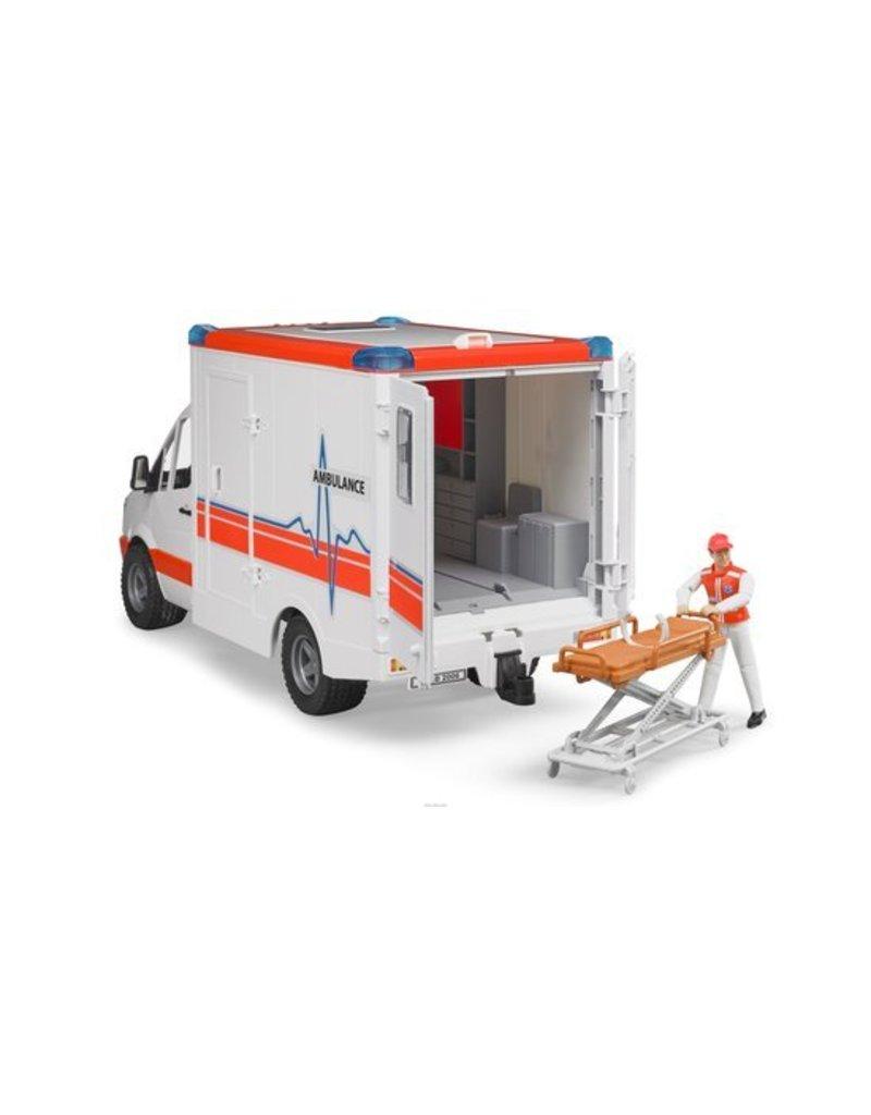 Mercedes Benz Bruder ambulance met ambulancebroeder