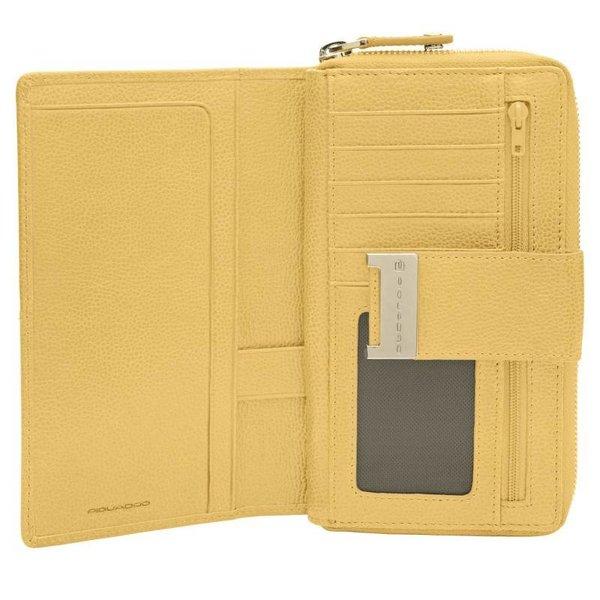 Wallet Piquadro yellow PD1354W49