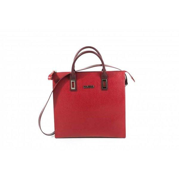 Claudia Firenze Designer-Handtasche rot