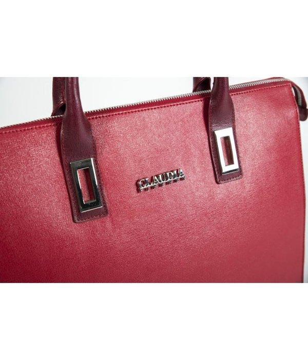 Claudia Firenze Claudia Firenze designer handtas rood