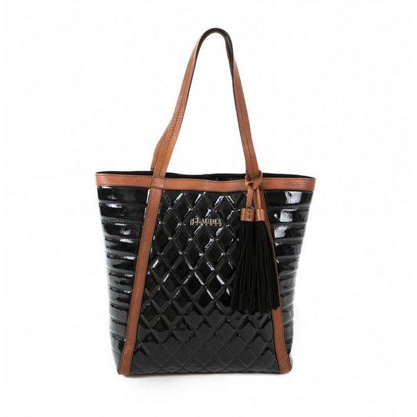 Claudia Firenze designer handtas zwart