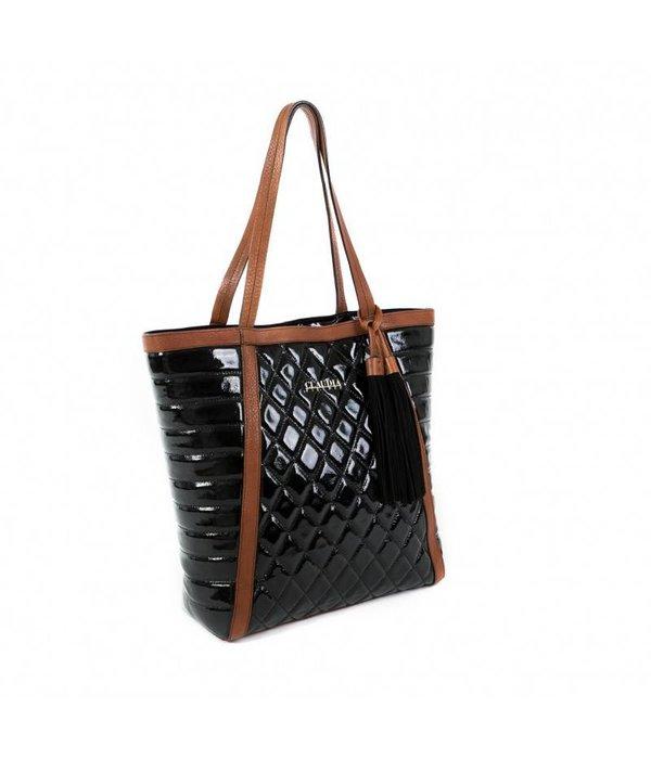 Claudia Firenze Claudia Firenze Designer-Handtasche schwarz