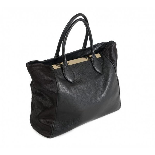 Claudia Firenze Designer-Handtasche schwarz