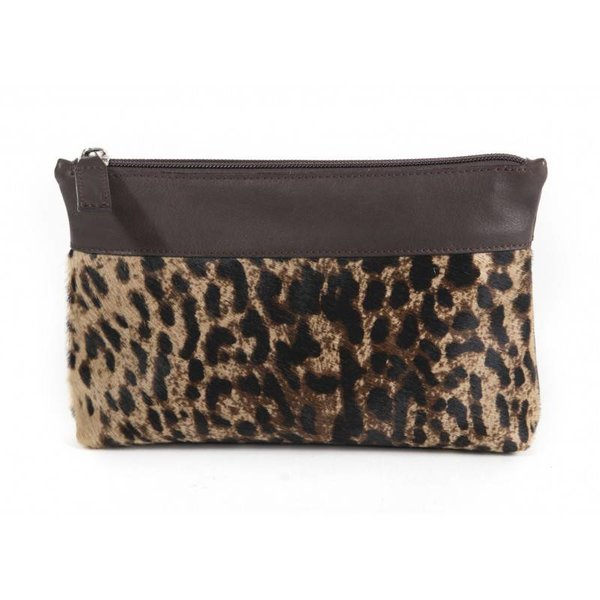 Claudia Firenze clutch panter