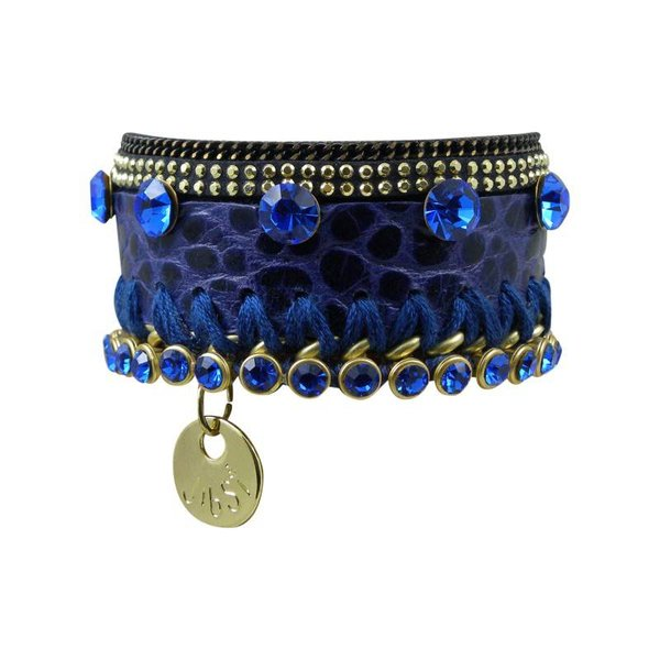 JIBSI Armband - blau