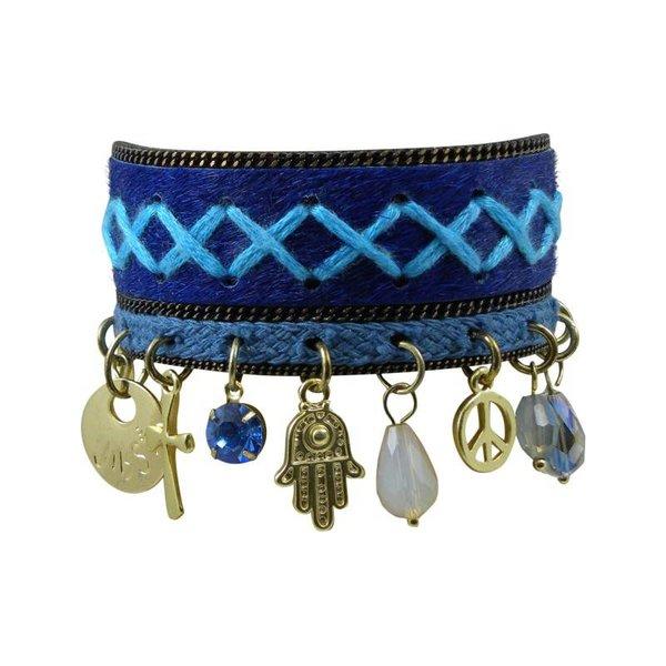 JIBSI armband - blauw