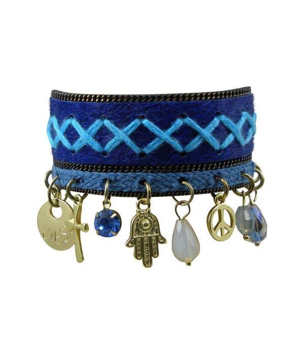 JIBSI Armbanden JIBSI Armband - blau