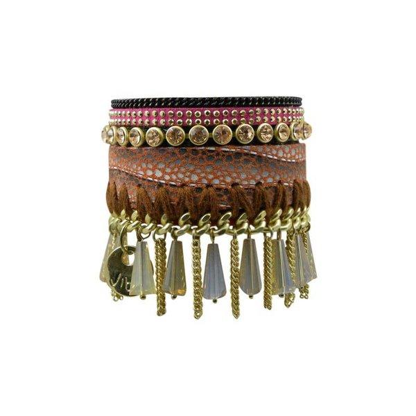 JIBSI Armband - beige