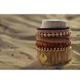 JIBSI Armbanden JIBSI Armband - beige