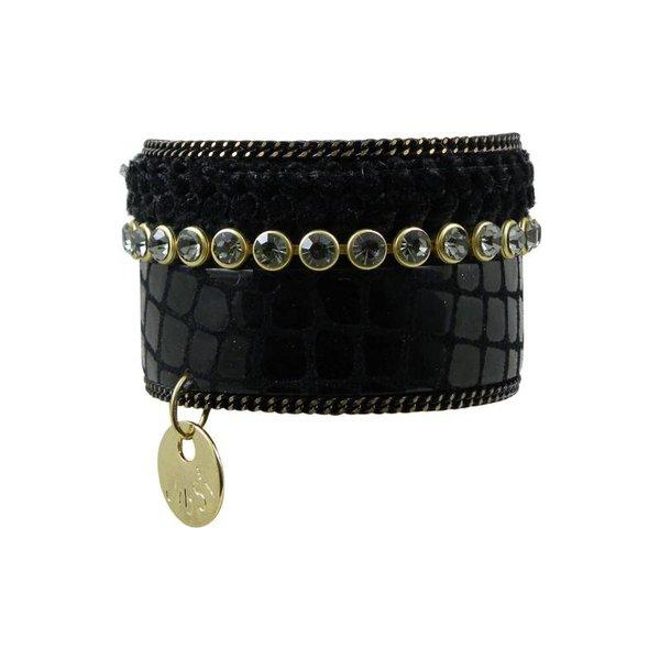 JIBSI Armband - schwarz