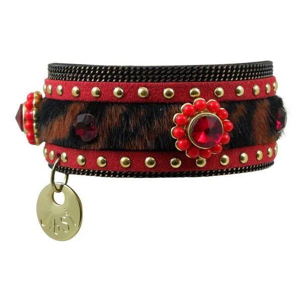 JIBSI armband - rood