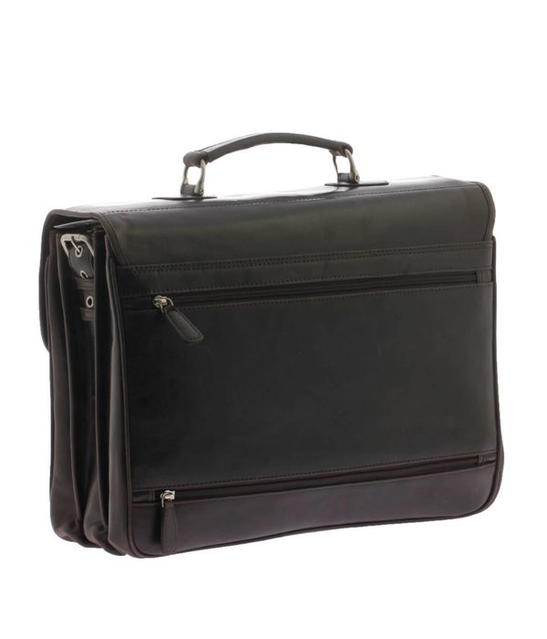 Plevier Plover-Leder-Laptop Brown