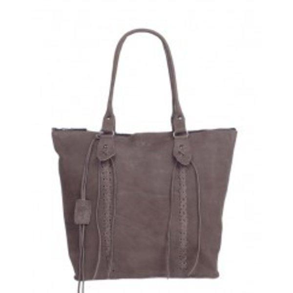 Chabo Bags Indian Shopping Bag elephant grey