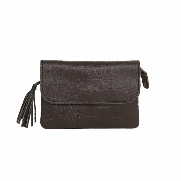 Chabo Bags Grande Petit Croco zwart