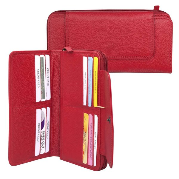 dR Amsterdam Wallet Mint Tango Red