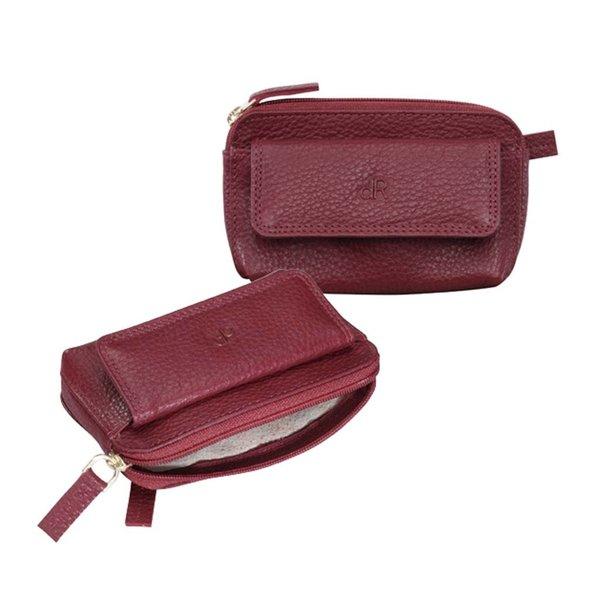 dR Amsterdam Schlüsseltasche Mint Red Dahlia
