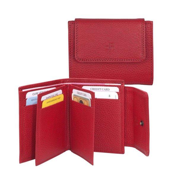 dR Amsterdam Creditcard-etui Mint Tango Red