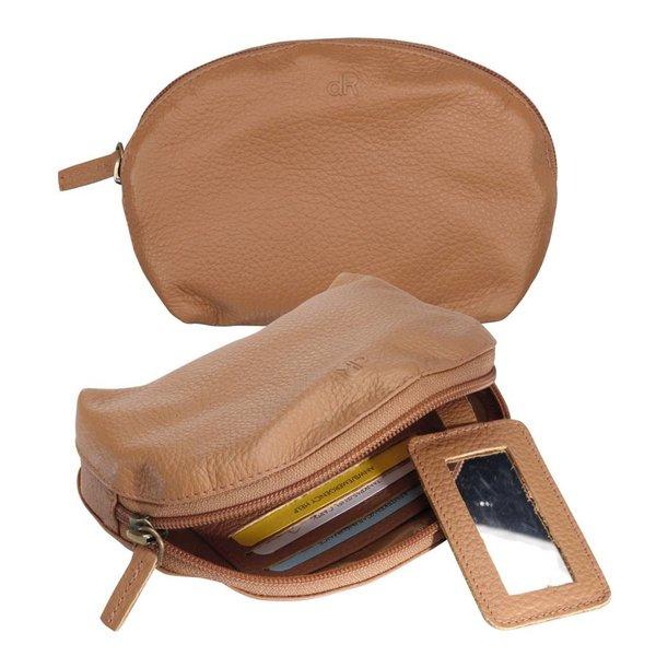 dR Amsterdam Make-up Bag Mint Cashew Beige