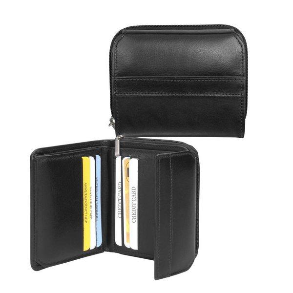 dR Amsterdam Wallet-67 Series Schwarz