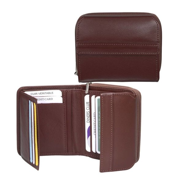 dR Amsterdam Wallet-67 Series Cognac