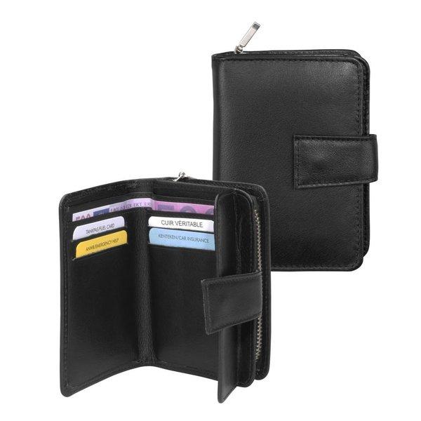 dR Amsterdam Men Wallet-67 Series Schwarz
