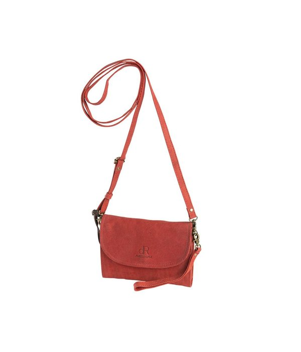 dR Amsterdam dR Amsterdam Clutch Olive Tango Red