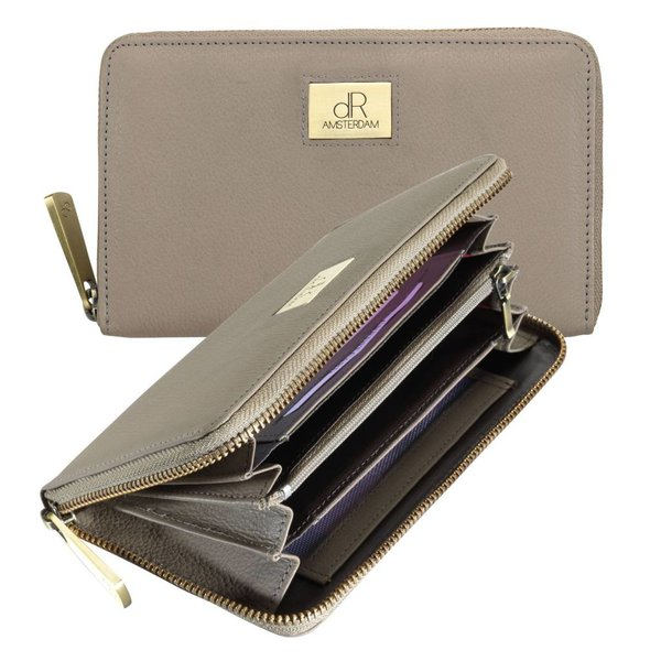 dR Amsterdam Wallet Basil Taupe