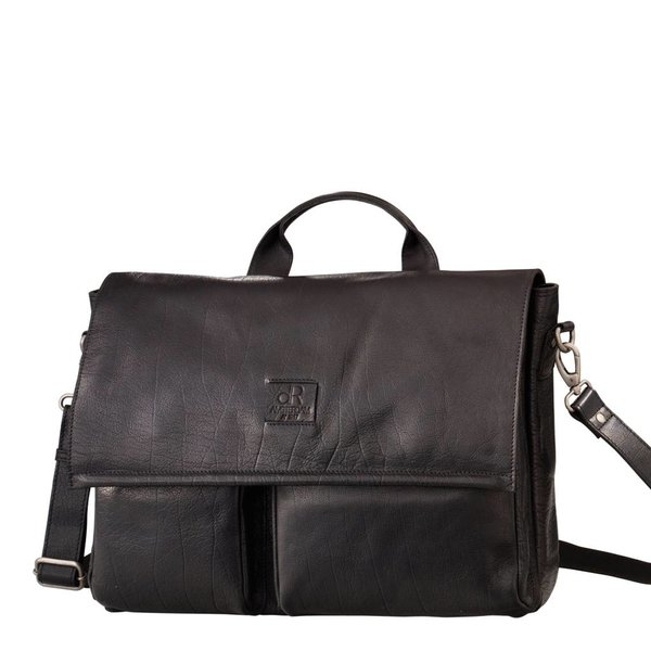 dR Amsterdam Workbag Icon Schwarz