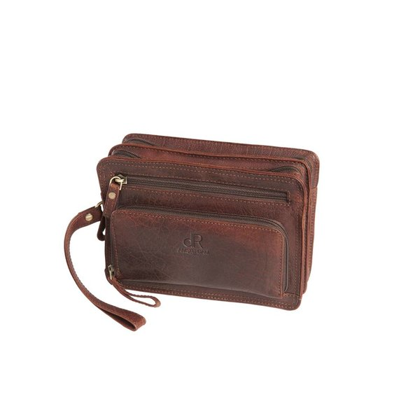 dR Amsterdam Ledertasche Icon Brown