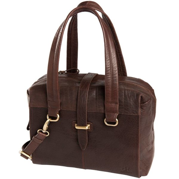 dR Amsterdam Handtasche Icon Brown