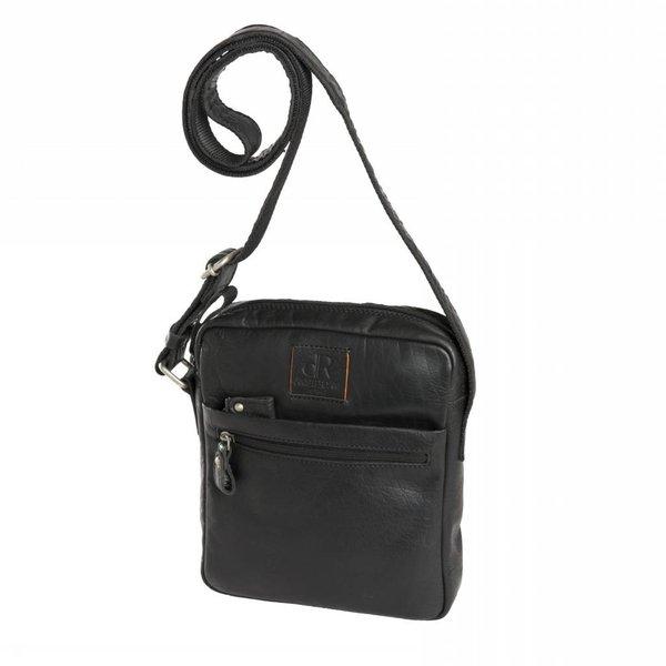 dR Amsterdam Leatherbag Icon Black