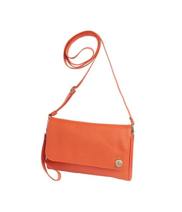 dR Amsterdam dR Amsterdam Clutch Mint Tangerine Tango orange