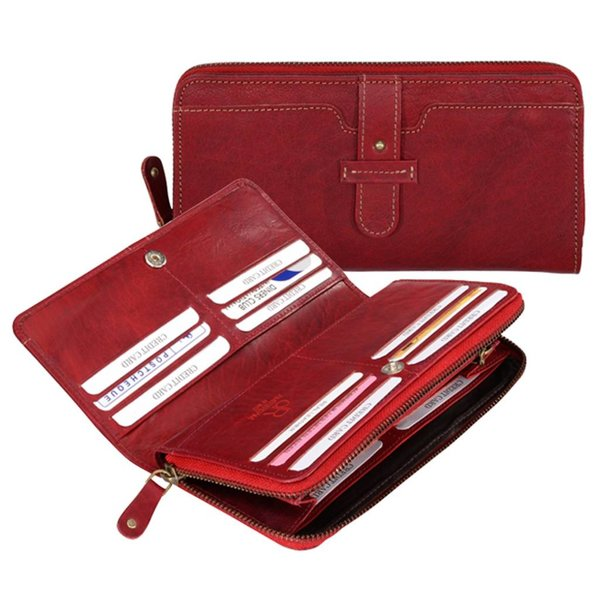 dR Amsterdam Wallet Waxi Red
