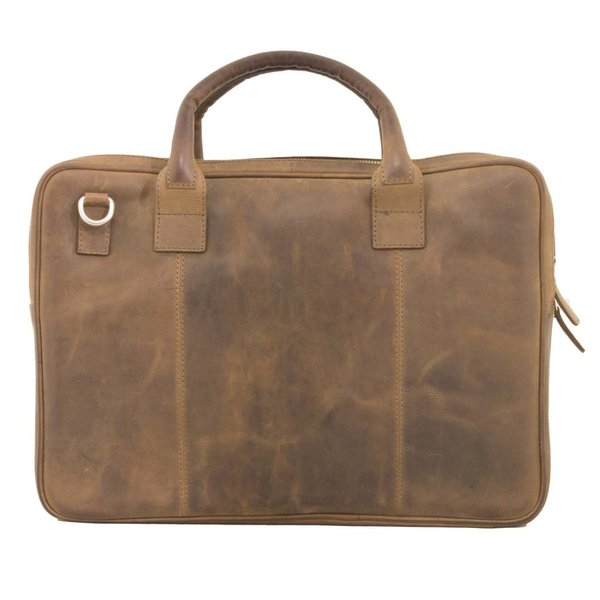 Plover Leather Laptop Brown