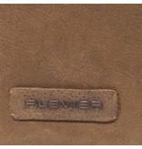 Plevier Plevier leren business/laptop loader cognac