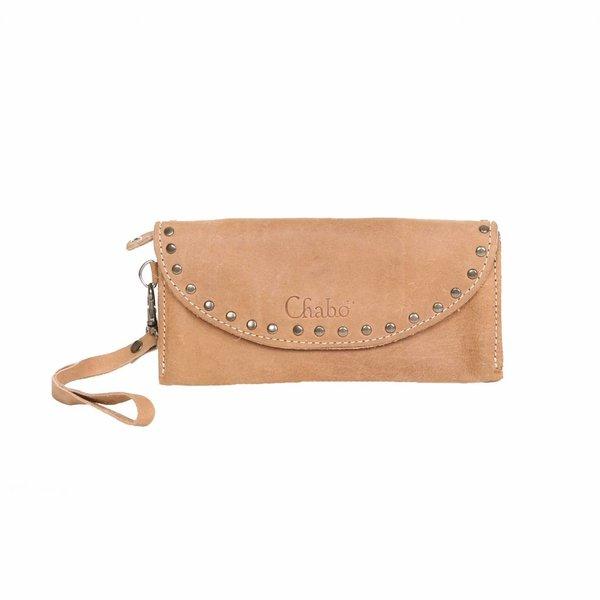 Chabo Taschen Wallet Studs Beige