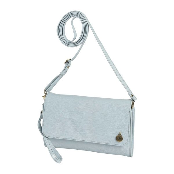dR Amsterdam Clutch Mint Light Blue