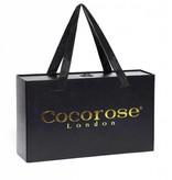 Cocorose London Coco Rose Buckingham Blaue Schlange-Druck
