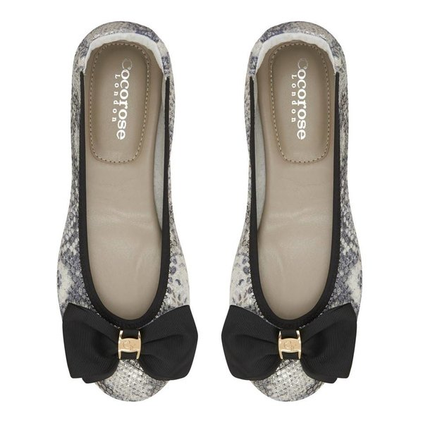 Cocorose London Buckingham Silver Snake Print