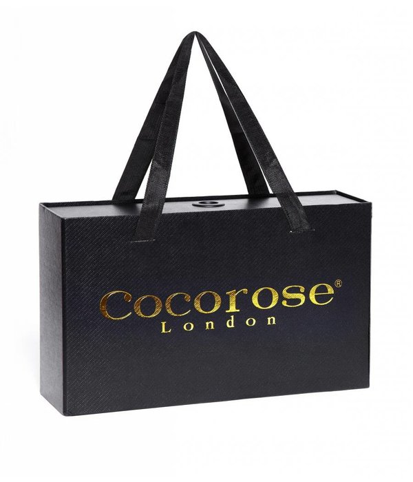 Cocorose London Coco Rose London Buckingham Silber Schlange-Druck