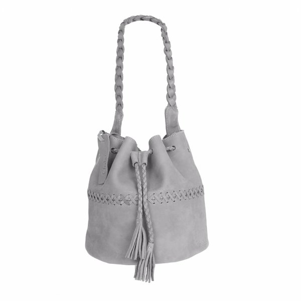 Chabo Bags Indian Pouch Grey