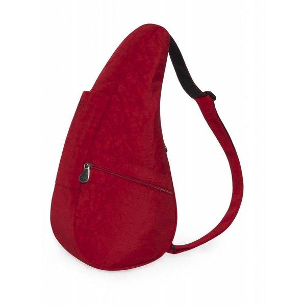 Die Healthy Back Bag Strukturierter Nylon Karminrot Kleine