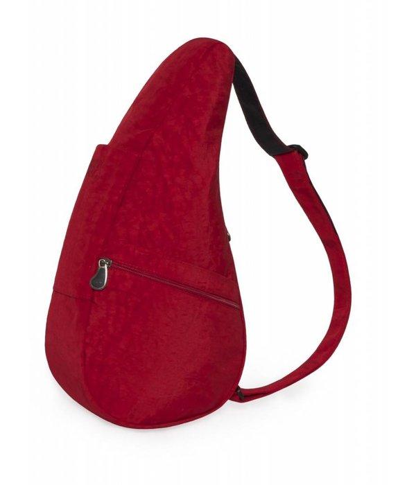 Healthy Back Bag Die Healthy Back Bag Strukturierter Nylon Karminrot Kleine