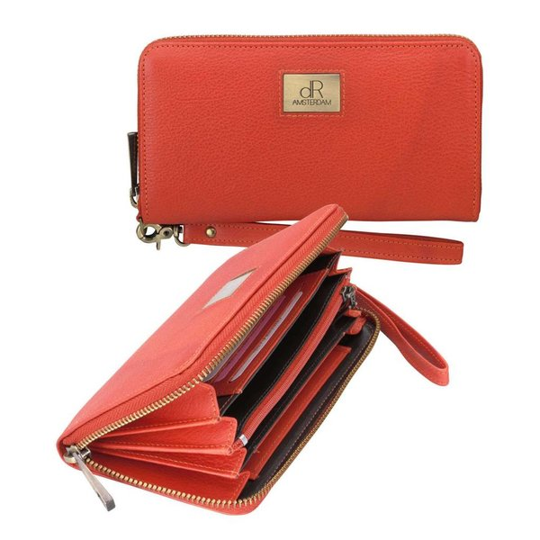 dR Amsterdam Wallet Basil orange