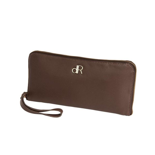 dR Amsterdam Clutch Basil Fudgesickle Brown